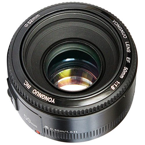 Yongnuo 50mm F1 8N Standard Prime Lens Auto Manual Focus AF MF for Nikon